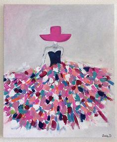 1000 id es sur le th me robe color e sur pinterest robes fourreau robes et - Idee tableau peinture ...