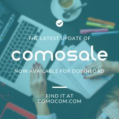 We have a great announcement for you! With our latest #comosale update you can now print USPS Shipping Labels and Resolve Disputes right from the comosale software for eBay sellers. The new comosale is already available for download! Sell, ship and resolve selling problems with the all-in-one tool, comosale. Find out more at http://comocom.com/