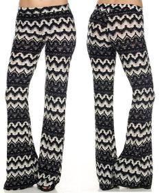 USA-BELL-BOTTOM-Printed-Boho-Stretch-Flare-Long-Yoga-Wide-Leg-Palazzo-Pants-S-XL