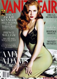 amy adams vanity fair november 2008 cover