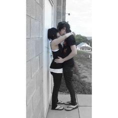 cute scene couple | Tumblr ❤ liked on Polyvore