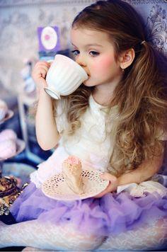 Kiddie tea party