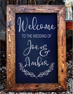 Welcome to the wedding of decal wedding decor wedding established wedding sign decals welcome sign wedding by eastcoastvinyldecals junglespirit Choice Image