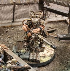 Spikey Bits Warhammer 40k, Fantasy, Conversions and Painted Miniatures: Ogyrn Gone Wild - Army of One