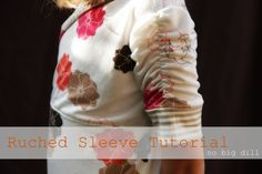 no big dill: Kniterviews and Ruched Sleeve T Tutorial