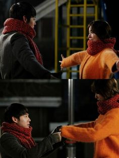 "Park Yoo Chun and Yoon Eun Hye of 'I Miss You': ""Let's love"" pinned with Pinvolve"