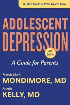 "In Adolescent Depression, psychiatrists Francis Mark Mondimore, MD, and Patrick Kelly, MD, explain that serious depression in adolescents goes beyond ""moodiness."" Depression is in fact an illness―one that can be effectively treated. The authors describe the many forms of depression and the many symptoms of depression in young people―from sadness to irritability, self-harm, drug and alcohol abuse, and violent rages."