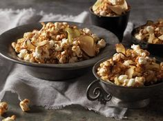 Make sure to use stove-popped popcorn for this recipe--not the microwave type--to ensure that your munch will be extra crisp and delicious.
