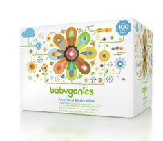 Babyganics Face Hand & Baby Wipes Fragrance Free 400 Count (Contains Four 100-Count Packs)