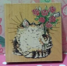 HOW ABOUT A HUG 1736K Margaret Sherry Cats Penny Black Rubber Stamp #1578 in Crafts, Stamping & Embossing, Stamps   eBay