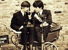 Ringo and Paul - The Beatles