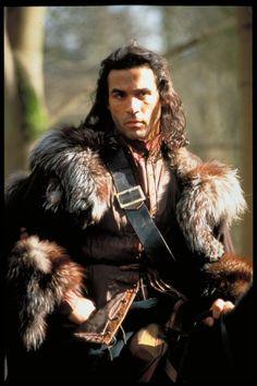 Adrian Paul aka Duncan MacLeod (Highlander TV series) born May 1959 Adrian Paul, Duncan Macleod, Clan Macleod, Annie, Men In Kilts, Highlanders, Gorgeous Men, Outlander, Favorite Tv Shows