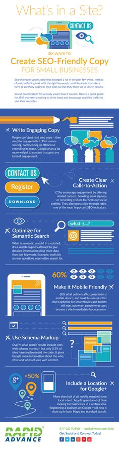 What Are 6 Quick Tips For Writing #SEO Friendly Copy? #infograpic