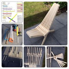 Picture of TuinStoel / GardenChair wood projects projects diy projects for beginners projects ideas projects plans Learn Woodworking, Popular Woodworking, Woodworking Projects Diy, Woodworking Plans, Woodworking Machinery, Woodworking Articles, Woodworking Workshop, Woodworking Techniques, Woodworking Outdoor Furniture