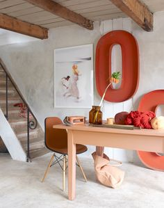 Discover more of the best Convoy, Letter, and Table inspiration on Designspiration Home Interior Design, Interior Architecture, Interior And Exterior, Urban Outfitters, Spring Home Decor, Blog Deco, Dining Room Design, Home Staging, Home Decor Inspiration