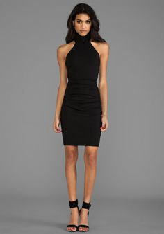 "SUSANA MONACO Selena 20"" Dress in Black - Cocktail"