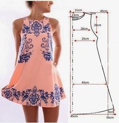 Easy diy clothes easy mini dress sewing pattern fashionable dress sewing patterns perfect for every body shape easy diy clothes rack Dress Sewing Patterns, Sewing Patterns Free, Clothing Patterns, Fashion Sewing, Diy Fashion, Ideias Fashion, Dress Fashion, Fashion Tips, Dress For Body Shape