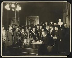 Governor Edwin P. Morrow signing the Anthony Amendment--Ky. was the twenty-fourth state to ratify, January 6, 1920