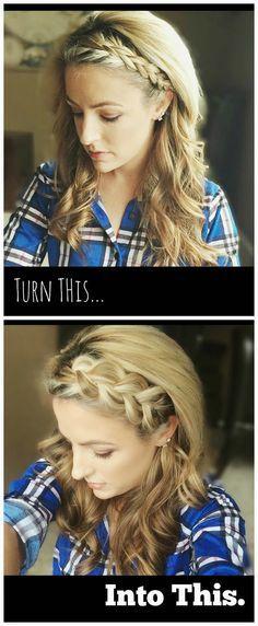 Hair Tutorial: Bigger, Fuller Dutch Braid
