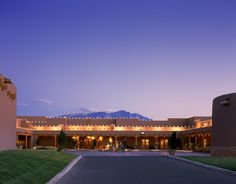 Plaza of Generations at the Hyatt Regency Tamaya Resort & Spa located at the Santa Ana Pueblo, NM, USA