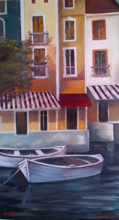Venice  Oil painting by Canan Can