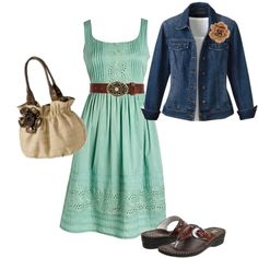 Summer Dress, created by foglemans on Polyvore