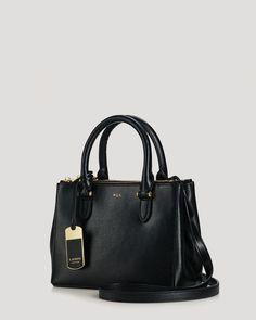 339884f6cac3 Lauren Ralph Lauren Mini Bag - Newbury Double Zip Handbags - Bloomingdale s
