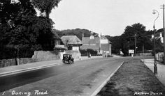The 'Peacock Hall Hotel', Goring Road, Goring, Worthing. Now 'The Mulberry'. Looking West Towards the Point Where the Turns North Into Mulberry Lane Worthing, Old Photos, Sidewalk, History, Places, Peacock, Albums, Pictures, Layout