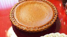 Crostata di zucca, pumpkin pie ricetta americana cucina americana dolce di zucca