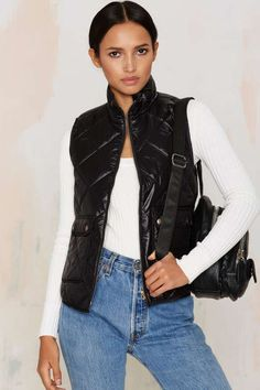 Puff and Ready Quilted Vest