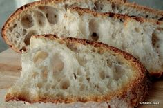 Pan di Pane: Pane tutto buchi, la ricetta originale World Recipes, Biscotti, Banana Bread, Good Food, Food And Drink, Pizza, Homemade, Snacks, Cooking