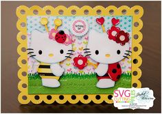 Scrappers Creative Corner: 2nd Annual Hello Kitty Blog Hop!