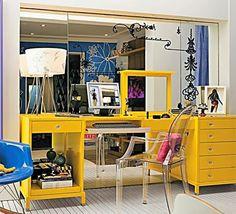Decor Salteado - Blog de Decoração | Construção | Arquitetura | Paisagismo: Penteadeiras vintage, retrô e modernas – nos quartos e no banheiro!