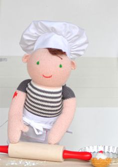 doll chef costume