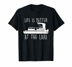 Boat Shirts, Simple Shirts, Lake Life, Graphic Tee Shirts, Funny Shirts, Custom Shirts, Life Is Good, Coyote Hunting, Pheasant Hunting