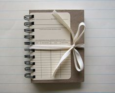 Duly Noted Journal on etsy by Jamaica Edgell $17.50