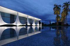 Alvorada Palace Brazilia Brazil  architect Oscar Niemayer