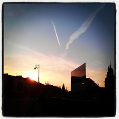 Sunset at Sauchiehall St. after a lovely sunny day by @ijusty