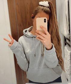 """altid clothing (@altidclothing) posted on Instagram: """"Friend of altid @alexandragrace_94 in our grey marl hoodie."""" • Aug 23, 2021 at 5:50pm UTC Hoodies, Grey, Clothing, Sweaters, Instagram, Fashion, Gray, Outfits, Moda"""