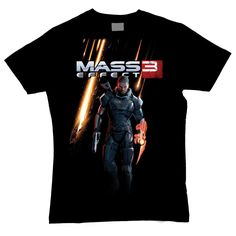 Mass Effect 3 Men's Shepard T-Shirt (Black)