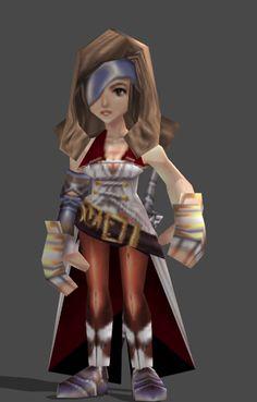 Final Fantasy IX -- Beatrix Cosplay Costume Version 01