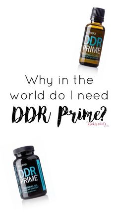Why in the world do I need DDR Prime from doTERRA? Learn about each oil in this fabulous blend on my blog www.thepricklypilotswife.com #ddrprime #doterra #essentialoils