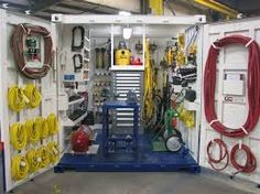 Image result for shipping container tool shop Shipping Container Storage, Shipping Containers, Sea Containers, Storage Containers, Barns Sheds, Tool Shop, Home Tools, Garage Workshop, Tool Storage