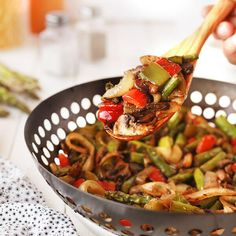 These BBQ Wok Vegetables are so wonderfully flavorful, you are going to want to serve them every time you heat up the grill! Have you ever heard of a BBQ wok? I remember when I first got mine, I was a little skeptical about using it. But after the first couple of times, I used it to grill vegetables, I was hooked! The results of cooking veggies on the grill this way are nothing short of amazing! The best part? The grill and the wok actually do all the work for you. All you need to do is add…