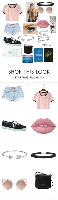 """""""PIPERRR!!!!"""" by itslaurenclark ❤ liked on Polyvore featuring Keds, Lime Crime, Bling Jewelry, Humble Chic, MANGO, Love Quotes Scarves and Lancaster"""