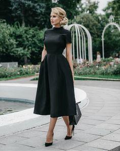 Black dresses classy - Black, classy dress and black prom dress – Black dresses classy Black Evening Dresses, Black Prom Dresses, Pretty Dresses, Homecoming Dresses, Beautiful Dresses, Dress Black, A Line Dresses, Black Dress Outfit Party, Dress Prom