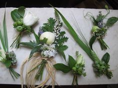 Boutonnieres and Corsage | Molly Oliver Flowers