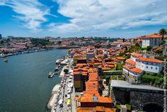 A Ribeira, Porto.