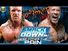 Smackdown! Here Comes The Pain: The Rock vs Triplo H