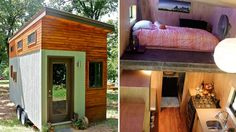 See inside this college student's 145 sq ft home --  College student builds tiny home to graduate debt-free : Today - 6/29/15